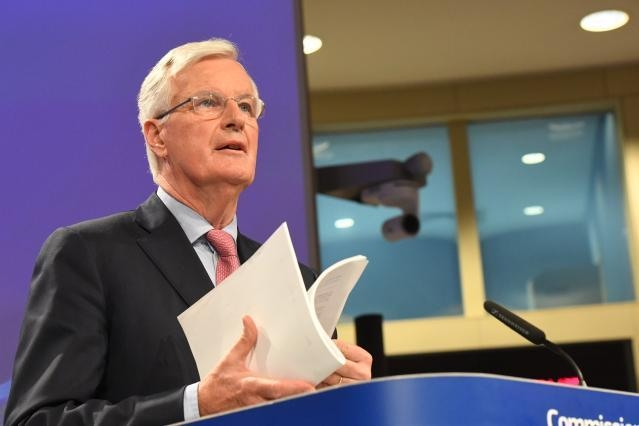Press conference by Michel Barnier, European Commission Chief Negotiator for Article 50 ...